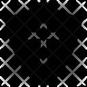 Shield Sword Sign Icon