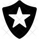 Shield Star Guard Icon