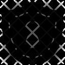 Shield Keyhole Guard Icon