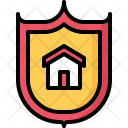 Shield Building Architecture Icon