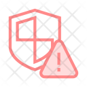 Shield Protection Exclamtion Icon