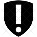 Shield Exclamation Security Icon