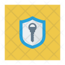 Shield Access Key Access Icon