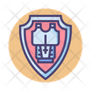 Shield And Armor Armor Armory Icon