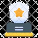 Shield Award Triumph Badge Icon