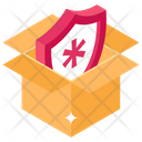 Shield Box Medical Shield Box Shield Package Icon