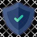 Shield Check Shield Security Icon