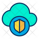 Shield Cloud Icon