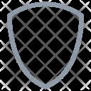 Shield Cross Unsafe Icon