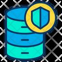 Shield Database Icon