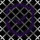 Shield Done Icon