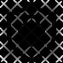 Shield Lock Badge Lock Icon