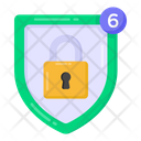 Privacy Notifications Shield Lock Notifications Safety Notifications Icon