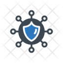 Shield Connection Network Icon