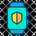 Shield Smartwatch Icon