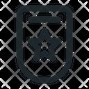Shield star- Icon