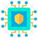 Technology Shield Protected Icon