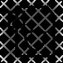 Shield text Icon