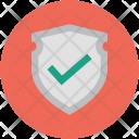 Shield Tick Safe Icon
