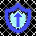 Shield Upload Icon