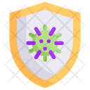 Shield Virus Icon