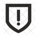 Shield Warning Security Icon