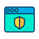 Shield Web Icon