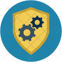 Shield With Gear Icon