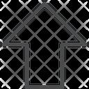 Shift Key Up Arrow Direction Arrow Icon