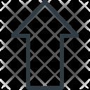 Shift Symbol Button Icon