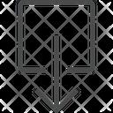 Down Arrow Direction Arrow Arrow Icon