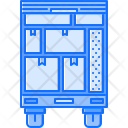 Moving Box Truck Icon