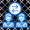 Shift Rotation Job Rotation Shift Person Icon