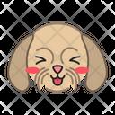 Shih Tzu Dog Smiling Icon