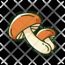 Shiitake Mushrooms Icon