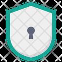 Shiled Lock Security Lock Access Shield Icon