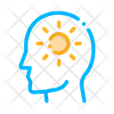 Shining Sun Man Icon