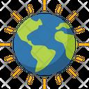 Shining Earth Icon