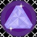Gemstone Shining Gem Emerald Icon