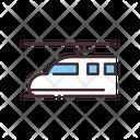 Shinkansen Bullet Train High Speed Icon