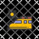 Shinkansen Bullet Train Train Icon