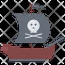Ship Pirate Seafaring Icon