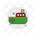 Toy Ship Boat Icon