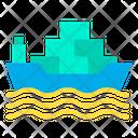 Shipment Transport Shipping Ship Icon