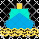 Cruz Ship Marine Icon