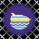 Ship Cruise Sea Icon