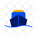 Ship Water Trasnport Travelling Icon