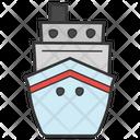 Boat Sailing Shipping Icon