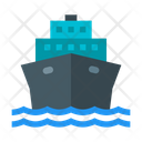 Boat Cruise Liner Icon