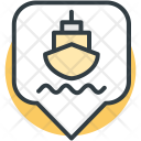 Ship Pin Location Icon